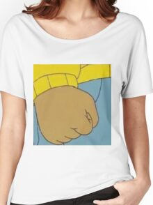 Arthur Fist Meme Women's Relaxed Fit T-Shirt