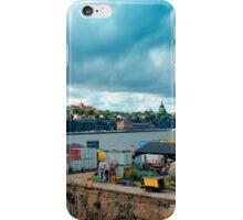 Stockholm Industrial Harbour, SWEDEN iPhone Case/Skin