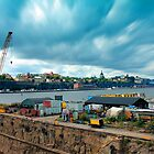 Stockholm Industrial Harbour, SWEDEN by E ROS
