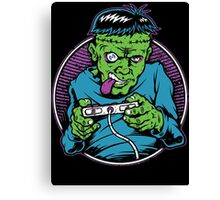 Franken Gamer Canvas Print
