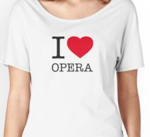 I ♥ OPERA Women's Relaxed Fit T-Shirt