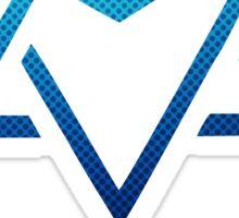 KPOP Astro New Album Summer Vibes T-Shir  - Blue Logo & symbol Sticker
