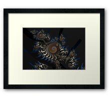 Irregular Bow Spirals No. 2 Framed Print