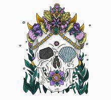 Mermaid Queen, Royal Dead Skull Series Men's Baseball ¾ T-Shirt