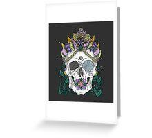 Mermaid Queen, Royal Dead Skull Series Greeting Card