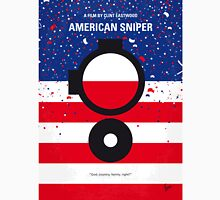 No435 My American Sniper minimal movie poster Unisex T-Shirt