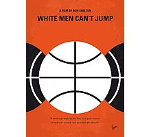 No436 My White Men Cant Jump minimal movie poster Photographic Print