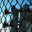 OLD FOGHORNS - Decommissioned Lighthouse, POINT SAN LUIS LIGHTHOUSE by waddleudo