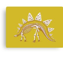 Pizzasaurus Awesome Canvas Print