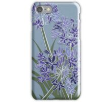 Architectural Agapanthus iPhone Case/Skin