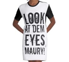 look at dem eyes, maury! II Graphic T-Shirt Dress