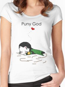 Puny God SD Tee Women's Fitted Scoop T-Shirt