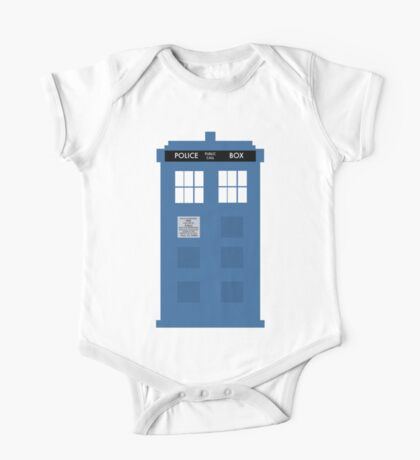 TARDIS - Doctor Who - Police Box One Piece - Short Sleeve