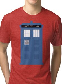 TARDIS - Doctor Who - Police Box Tri-blend T-Shirt