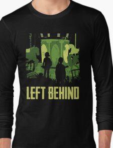 Left Behind Green Long Sleeve T-Shirt