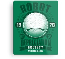 Robot Depreciation Society - Marvin the Paranoid Android Metal Print