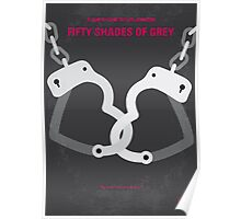 No442 My Fifty Shades of Grey minimal movie poster Poster