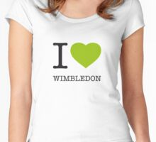 I ♥ WIMBLEDON Women's Fitted Scoop T-Shirt