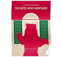 No443 My The Hotel New Hampshire minimal movie poster Poster