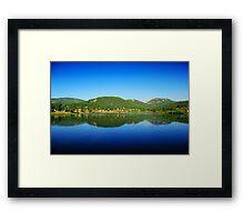 Lake Evergreen, Colorado Framed Print