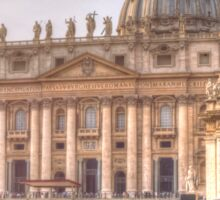 Vatican and St. Peter Square Sticker