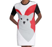 ¡Ay Chihuahua! Graphic T-Shirt Dress