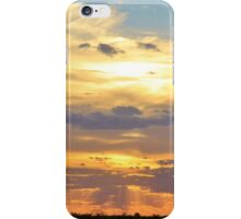 Sunset Background - Tranquil Harmony of Beauty  iPhone Case/Skin