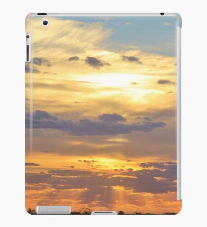 Sunset Background - Tranquil Harmony of Beauty  iPad Case/Skin