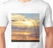 Sunset Background - Tranquil Harmony of Beauty  Unisex T-Shirt