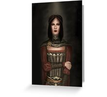 Serana Greeting Card