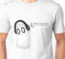 Undertale - Napstablook - Really not feeling up to it right now. . . Unisex T-Shirt