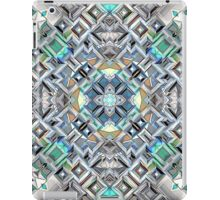 Geometric Metallic Pattern iPad Case/Skin