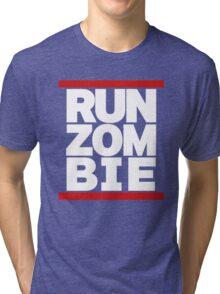 run zombie Tri-blend T-Shirt