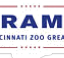 Harambe | Make cincinnati zoo great again Sticker