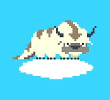 8-bit Appa on a Cloud by mmmham
