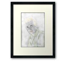 Digital Sketch © Vicki Ferrari Framed Print