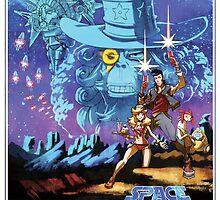 Space Dandy  by redpandasmash