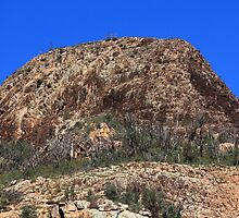 Craggy Hill in the Warrambungles by Carol James
