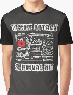 Zombie Survival Kit Graphic T-Shirt