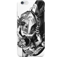 Bike GP heroes in action - 'Yukio Takahashi' [mono] iPhone Case/Skin