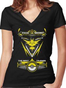 TEAM INSTINCT - POKEMON Women's Fitted V-Neck T-Shirt