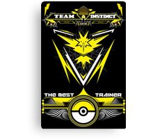 TEAM INSTINCT - POKEMON Canvas Print