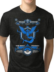 TEAM MYSTIC - POKEMON Tri-blend T-Shirt