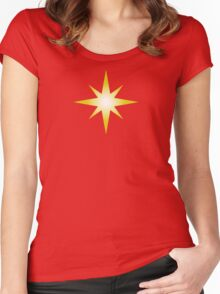 Cosmic Star Women's Fitted Scoop T-Shirt