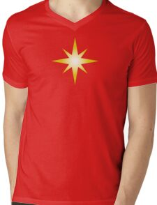 Cosmic Star Mens V-Neck T-Shirt