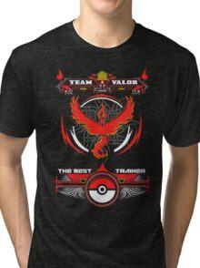 TEAM VALOR - POKEMON Tri-blend T-Shirt