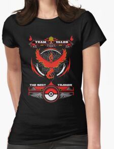 TEAM VALOR - POKEMON Womens Fitted T-Shirt