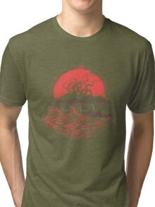 Tentacle Wars Tri-blend T-Shirt