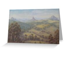 """Glasshouse Panorama"" Greeting Card"