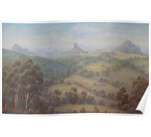 """Glasshouse Panorama"" Poster"